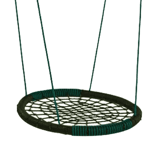 Pesakiik ovaal musta rohelisega