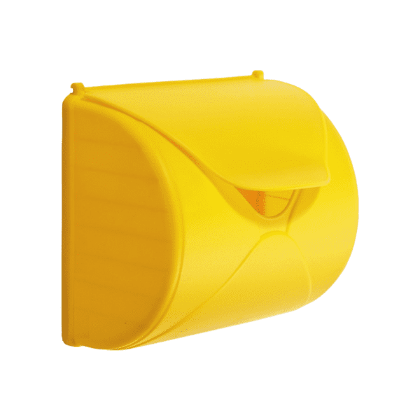 Postkast kollane