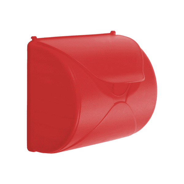 Postkast punane