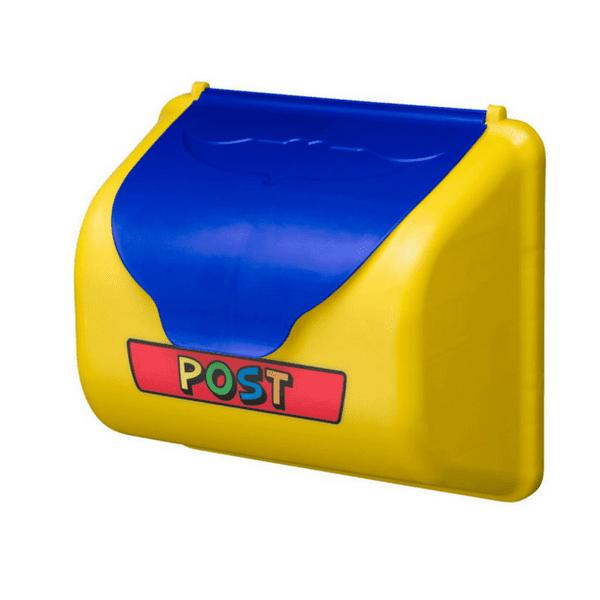 Postkast kollane ja sinine