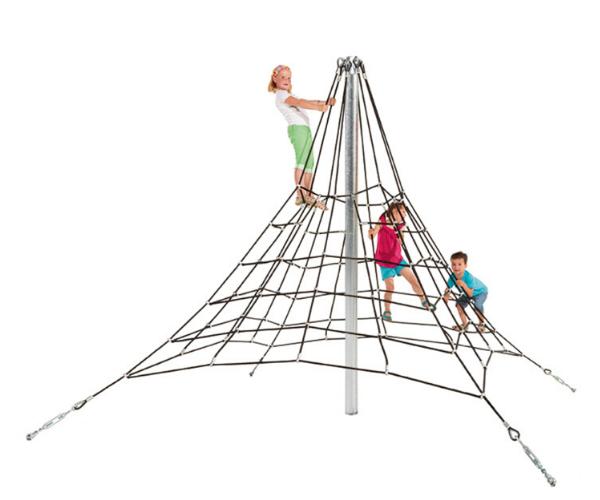 Mänguväljak võrkpüramiid 2,7m