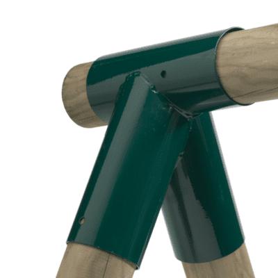 Kiigepostide nurgaühendus ümarale puidule 80/100mm