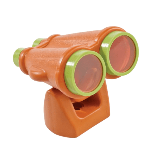 Binokkel oranz/laimiroheline