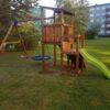 Mänguväljak Cascade + kiigemoodul Swing (pruun immutus)Mänguväljak Cascade + kiigemoodul Swing (pruun immutus)