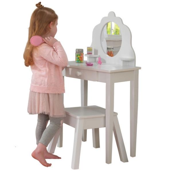 KidKraft meigilaud ja tool lastele