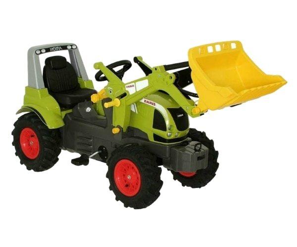 Pedaalidega traktor kopaga Claas Arion 640