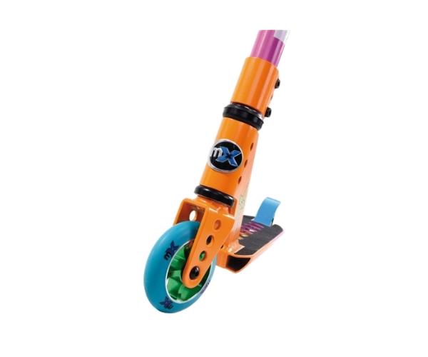 Laste trikitõuketas Micro Trixx 2.0 (oranž-sinine), lastele 6-12 aastat