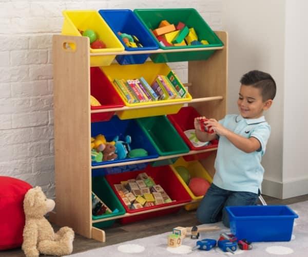 KidKraft mänguasjade riiul '12 Bin'