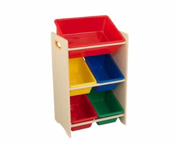 KidKraft mänguasjade riiul '5 Bin'