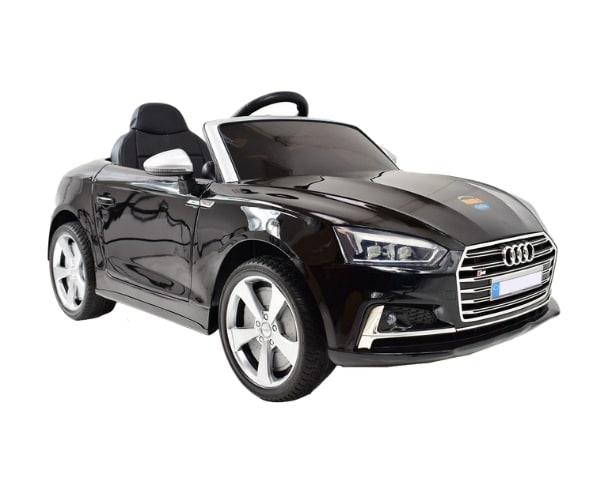 Lasteauto akuga 12V Audi S5 pärlmutter must