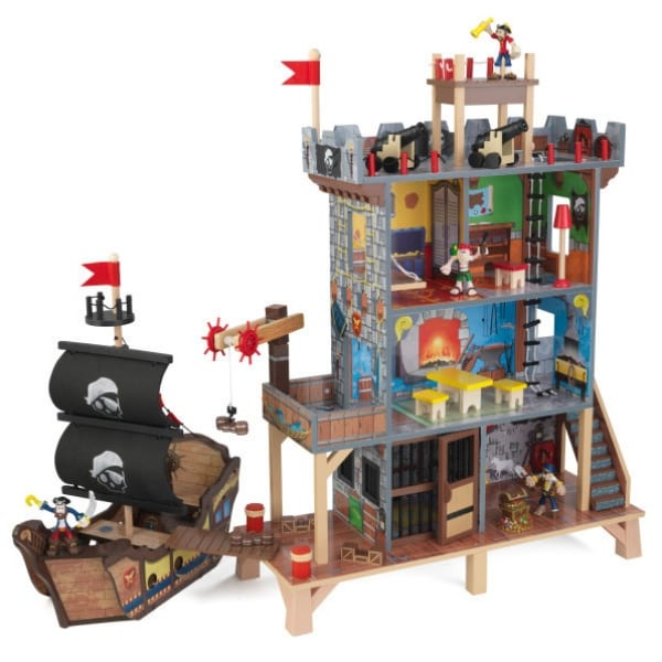 Mängulaud 'KidKraft' Pirate's Cove (17-osaline)