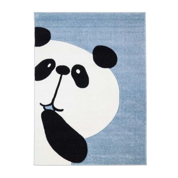 Pehme lastetoa vaip 'Piiluv panda' helesinine