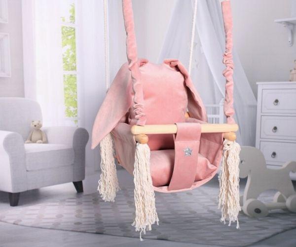 Beebikiik tuppa Jänes (roosa)