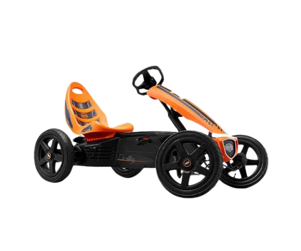 Pedaalidega kartauto Berg Rally Orange kartauto