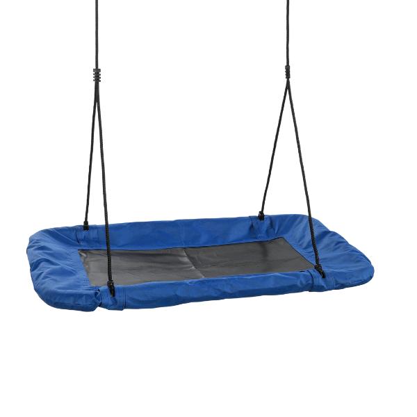 Pesakiik Basket sinine/must 98x98cm