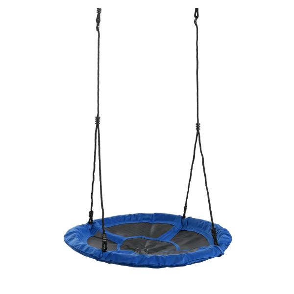 Pesakiik basket sinine/must Ø98cm