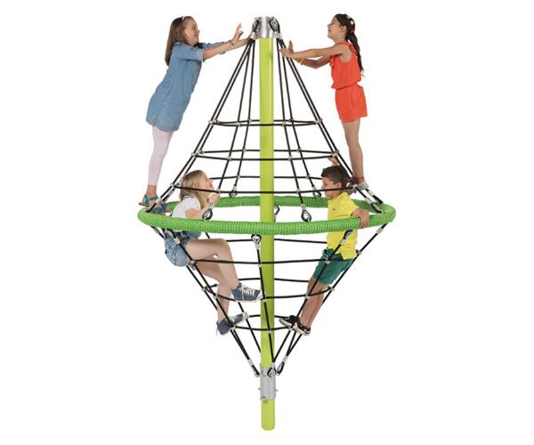 Mänguväljak võrkpüramiid Diamond 2,64m