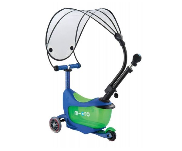 Mini2go Deluxe 3in1 Plus Varjuga kristall sinine
