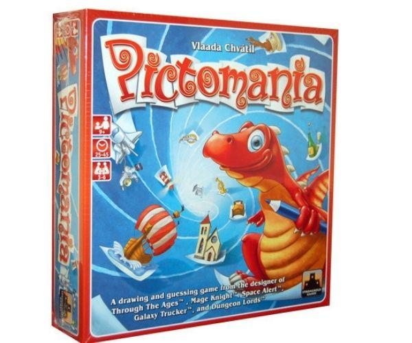 Dino lauamäng Pictomania