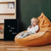 Pehme laste kott-tool Jänes, pruun velvetPehme laste kott-tool Jänes, pruun velvet