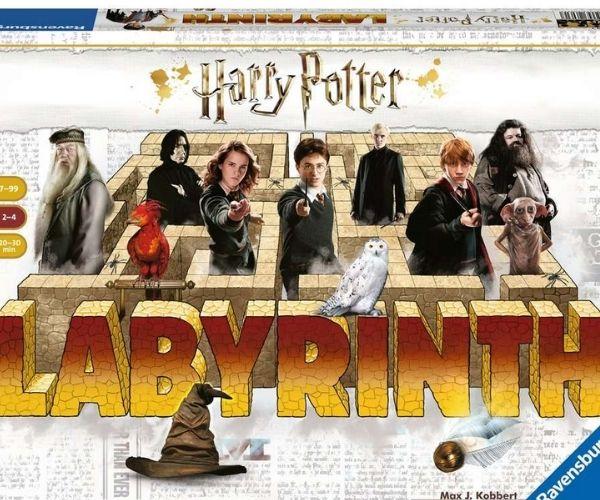 Ravensburger lauamäng Harry Potter labürint