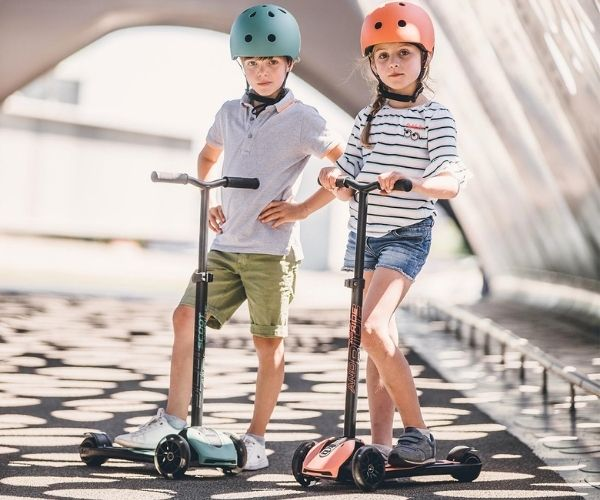 Tõukeratas Scoot and Ride Highwaykick 5 (Peach), alates 5+