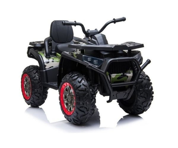 Laste elektriline ATV Spyder 4×45W, roheline