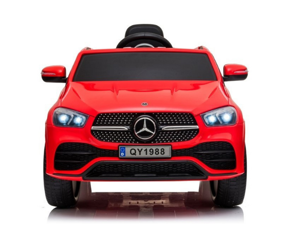Laste elektriauto Mercedes GLE 450 punane 2x45w, puldiga