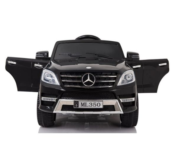 Laste elektriauto Mercedes ML350 2x45W must, puldiga