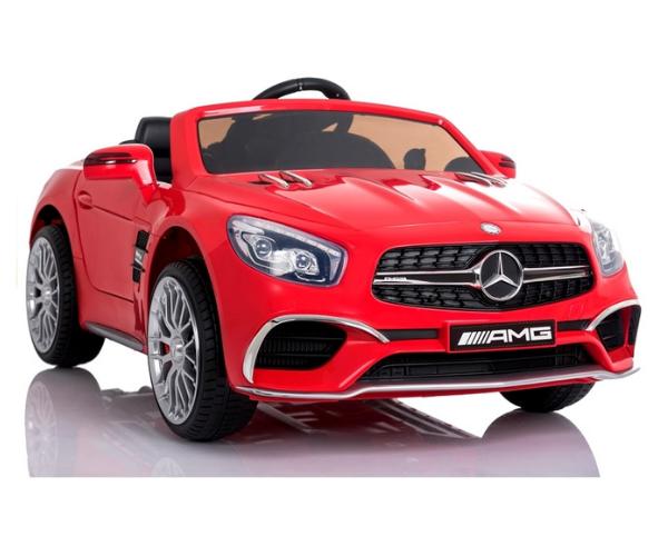 Laste elektriauto Mercedes SL65 2x45W punane, puldiga