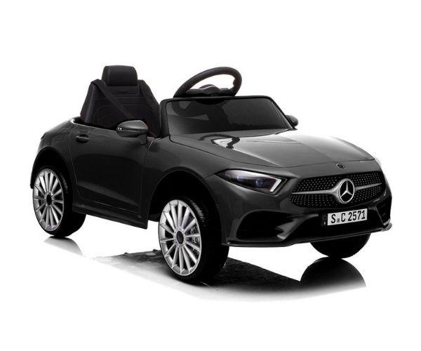 Lasteauto akuga Mercedes CLS 350 2x45W must, puldiga