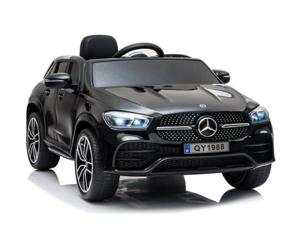 Lasteauto akuga Mercedes GLE 450 must 2x45w, puldiga