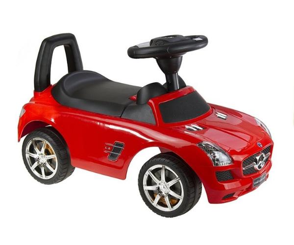 Pealeistutav auto Mercedes SLS, punane