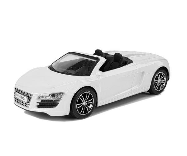 Mänguauto Audi Cabriolet, valge (25cm)