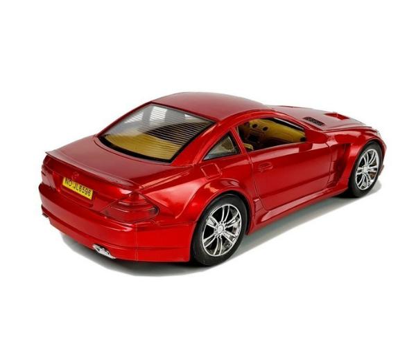 Mänguauto Mercedes, punane (25cm)