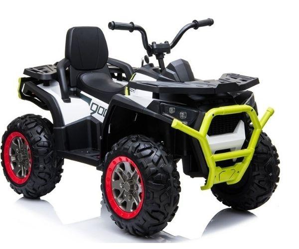 Laste elektriline ATV Spyder Desert 4×45W, valge