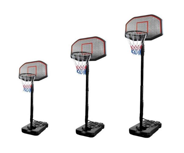 Teisaldatav ratastel korvpallilaud + korvirõngas (2)