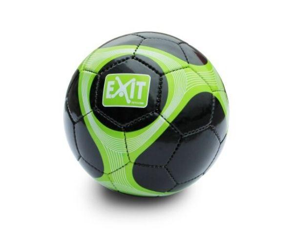 EXIT jalgpalli pall, suurus nr 5, roheline:must