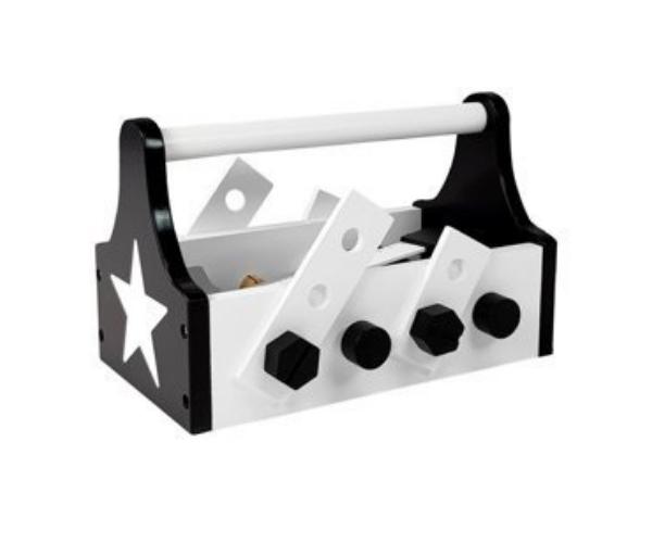 Laste puidust tööriistakomplekt kastiga (2)