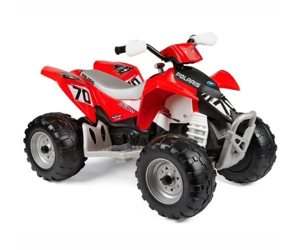 Peg Perego Polaris laste elektriline ATV 12V Outlaw 330W, punane