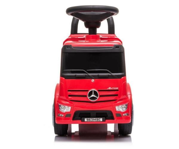 Pealeistutav auto Mercedes Antos Truck helidega, punane (2)